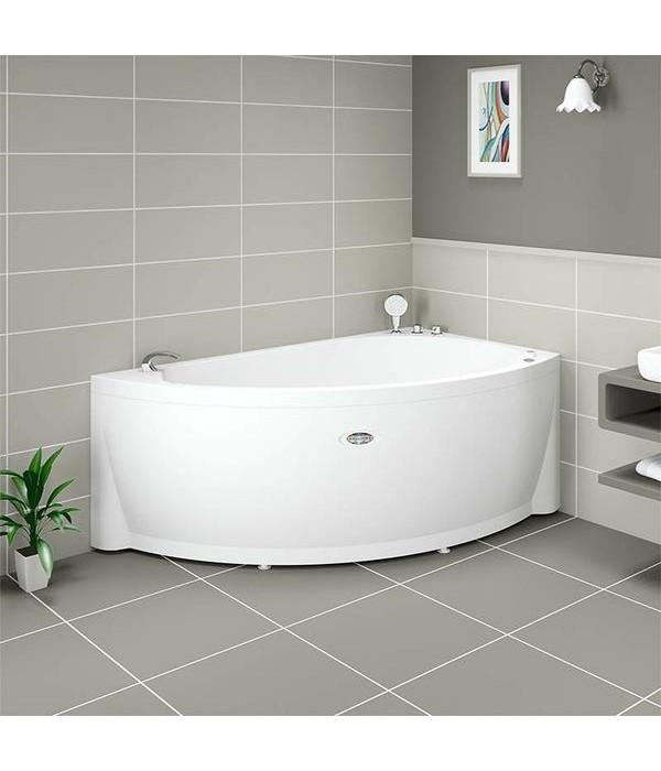 Акриловая ванна RADOMIR Бергамо с возможностью установки гидромассажа