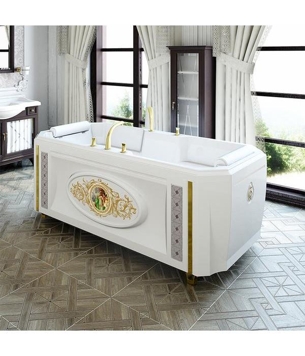 Акриловая ванна RADOMIR Фернандо с панелью