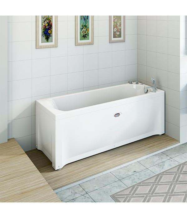 Акриловая ванна RADOMIR Кэти 168х70 с возможностью установки гидромассажа