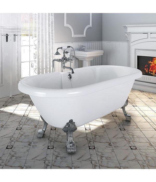 """Акриловая ванна RADOMIR """"Леонесса 175х80"""" Chrome"""