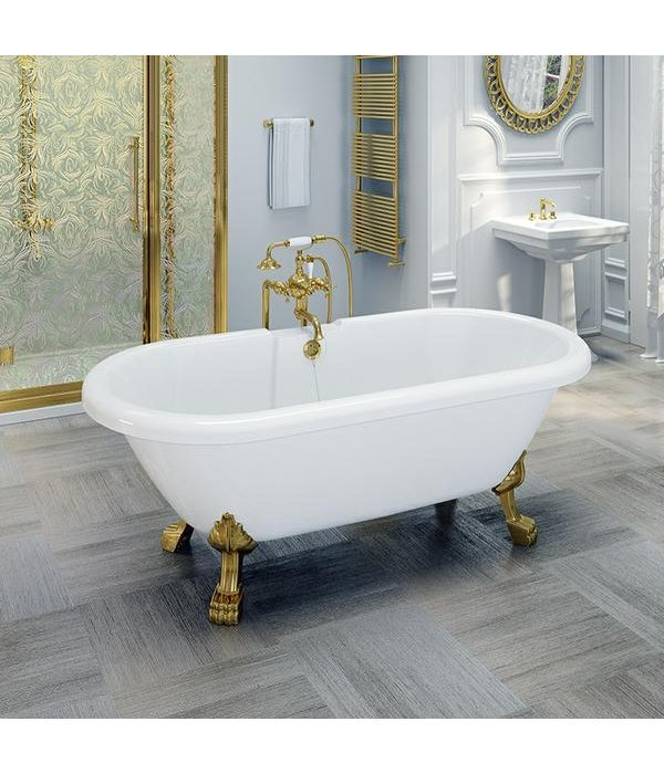 "Акриловая ванна RADOMIR ""Леонесса 175х80"" Gold"