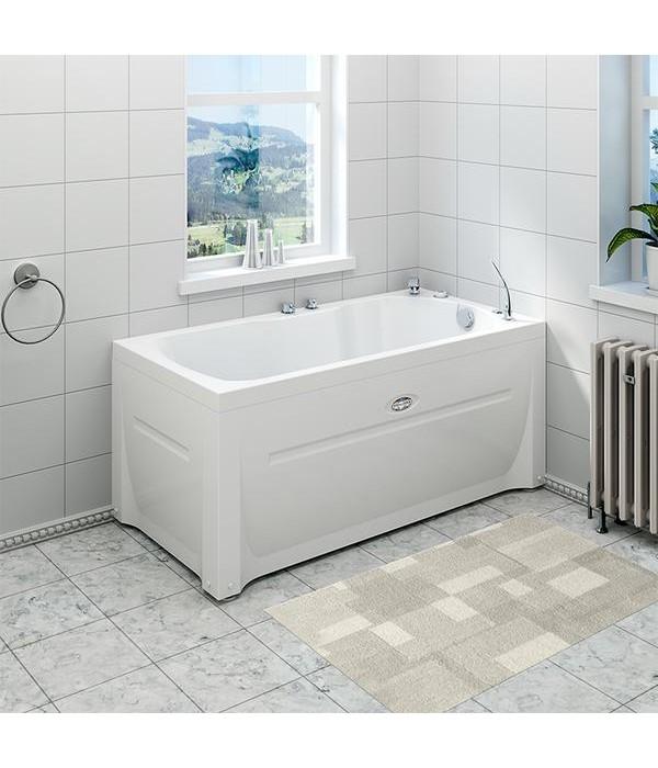 Акриловая ванна RADOMIR Лира с возможностью установки гидромассажа
