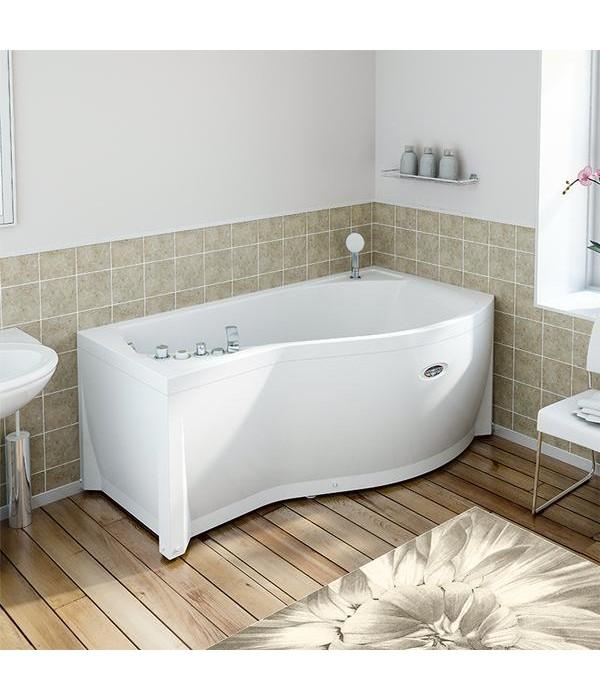 Акриловая ванна RADOMIR Миранда с возможностью установки гидромассажа