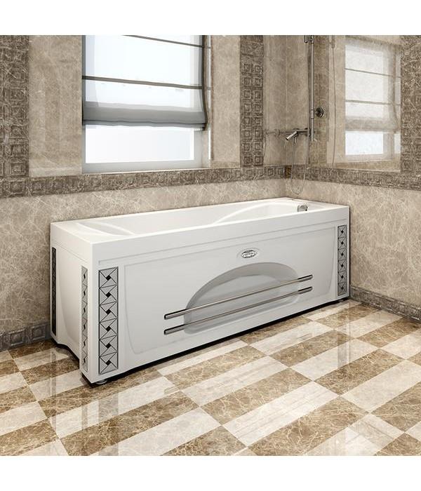 Акриловая ванна RADOMIR Сильвия с возможностью установки гидромассажа