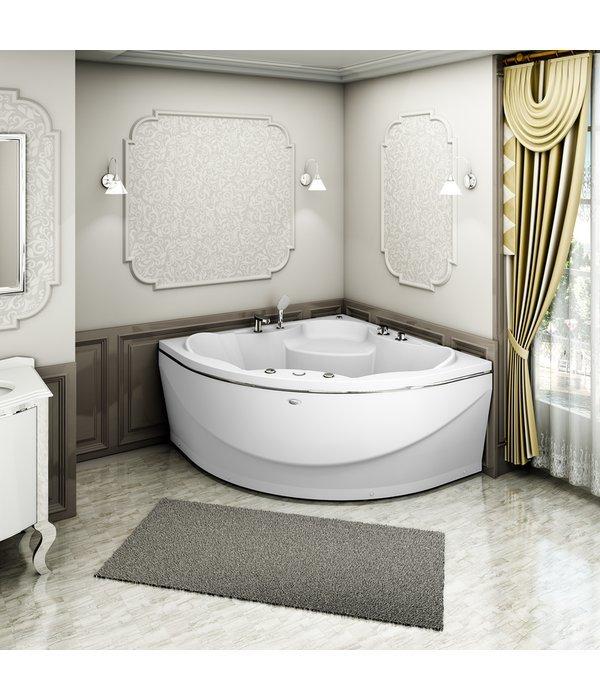Акриловая ванна RADOMIR Верона с возможностью установки гидромассажа 149*149*68