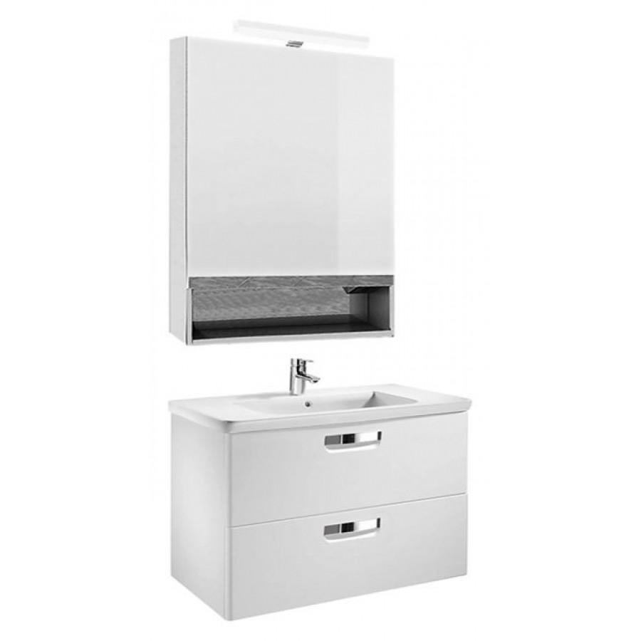 Комплект мебели Roca Gap 80, белый