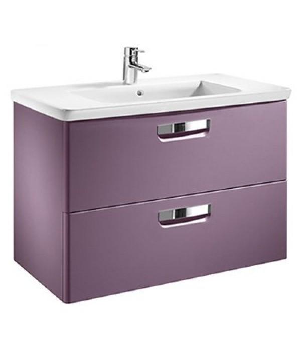 Тумба с раковиной Roca Gap 80, фиолетовый