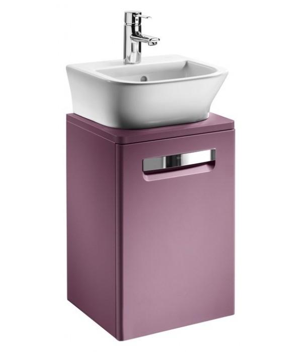 Тумба с раковиной Roca Gap 45, фиолетовый