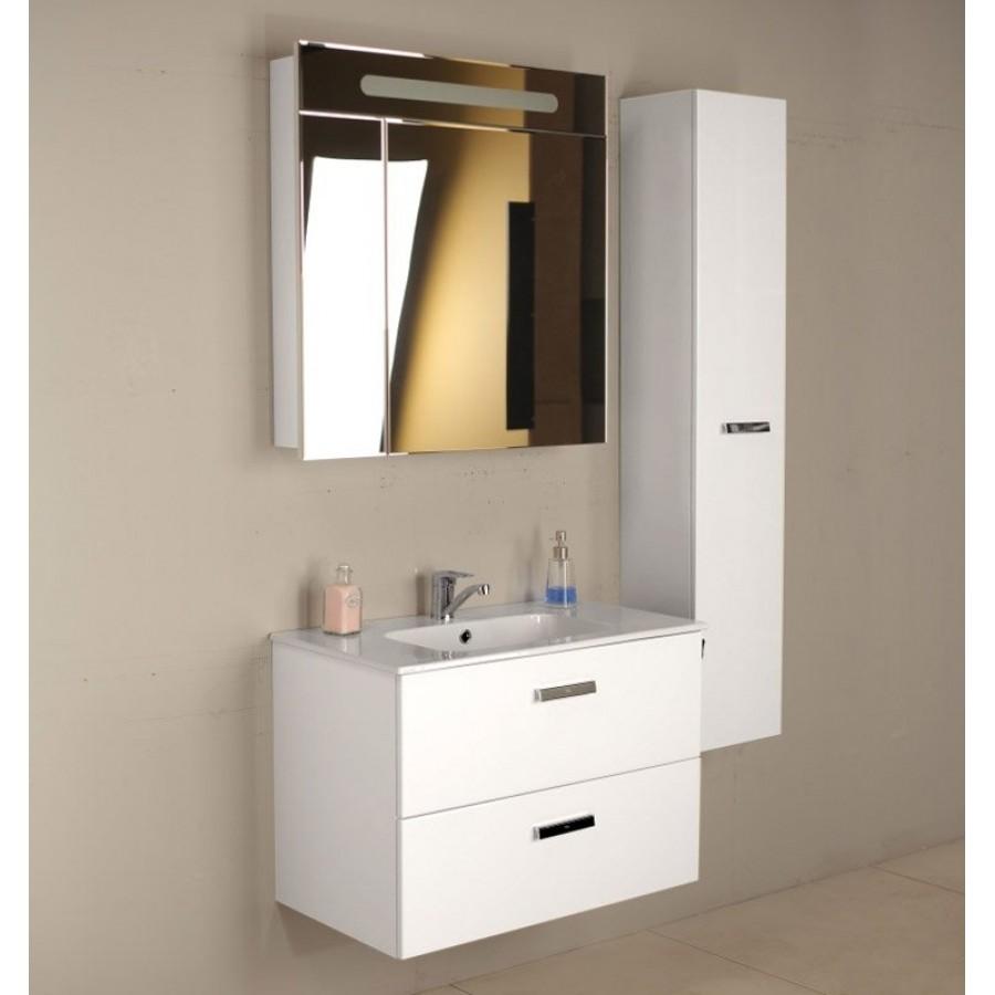 Комплект мебели Roca Victoria Nord 80, белый