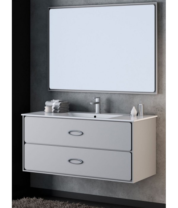 Комплект мебели Smile Монтэ 90, серый