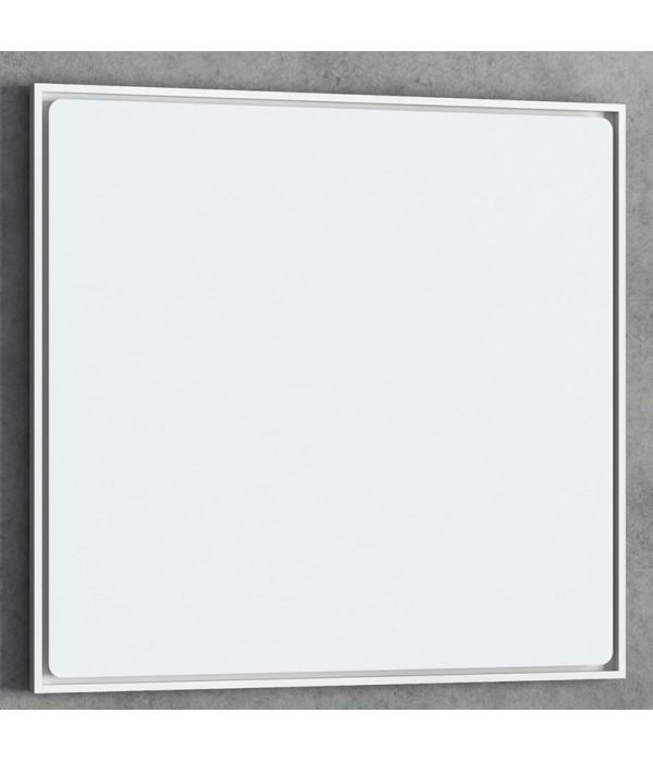 Зеркало Smile Монтэ 120, белый матовый