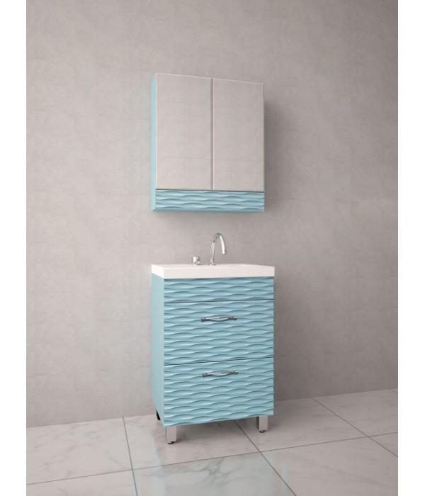 Комплект мебели Style Line Ассоль 70 аквамарин, PLUS