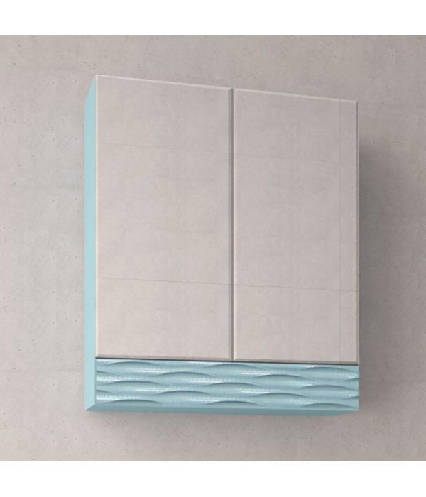 Зеркальный шкаф Style Line Ассоль 70 Люкс аквамарин