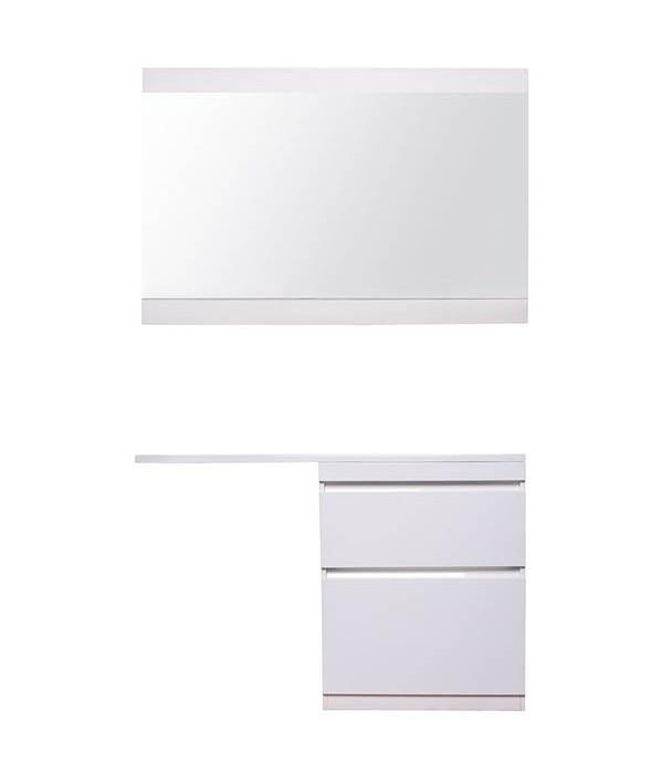 Комплект мебели Style Line Даллас 130 Люкс Plus напольная белая