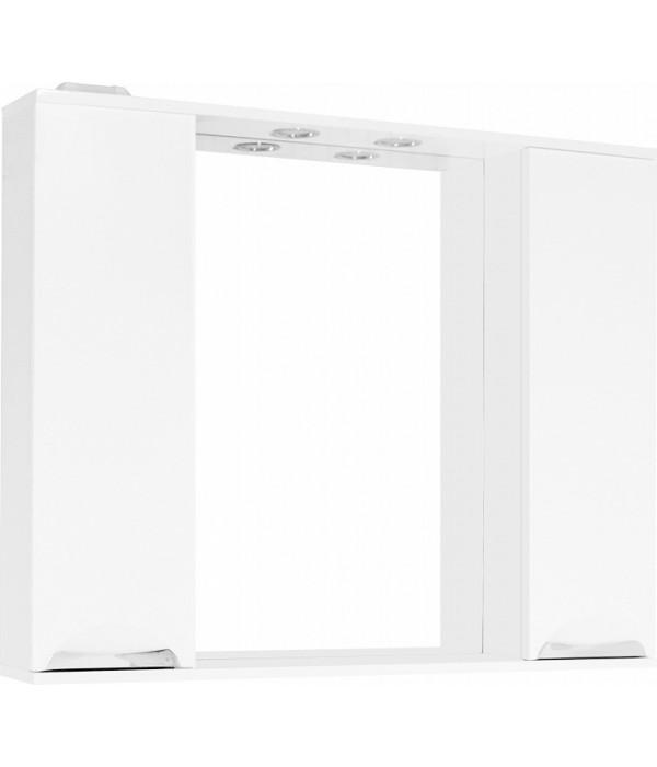 Зеркало-шкаф Style Line Жасмин 100/С белый