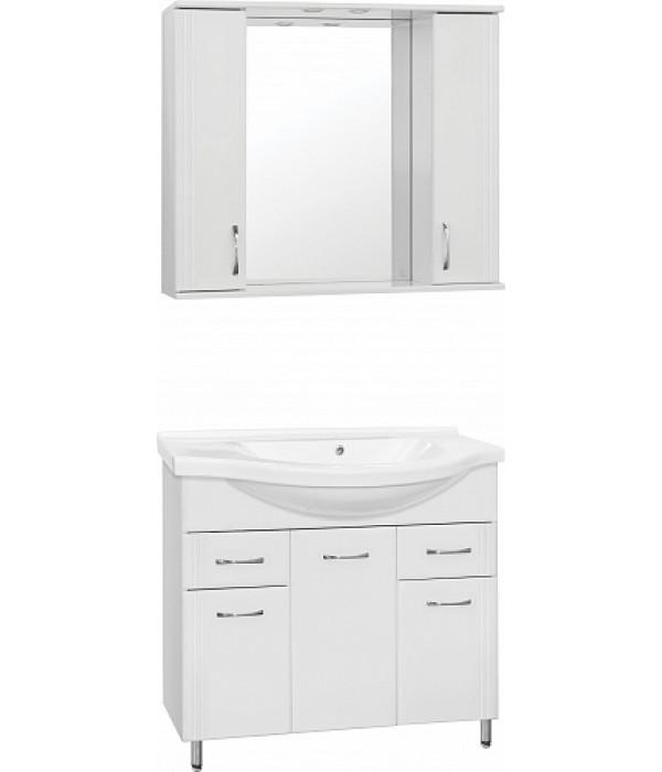 Комплект мебели Style Line Эко Стандарт №26 90 белый