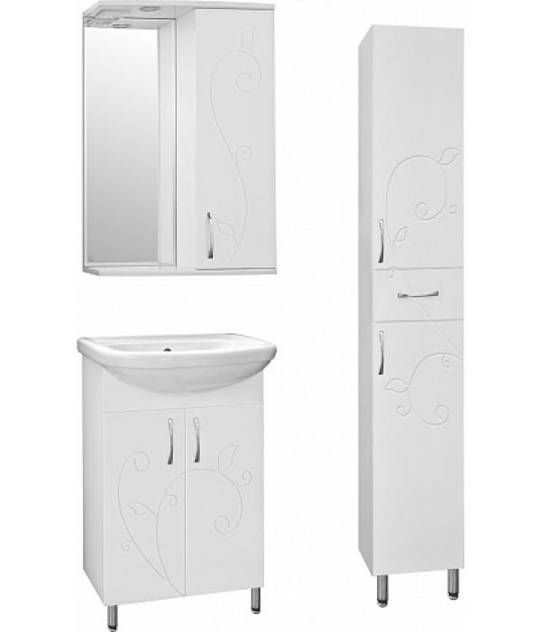 Комплект мебели Style Line Эко Фьюжн №9 55 белая