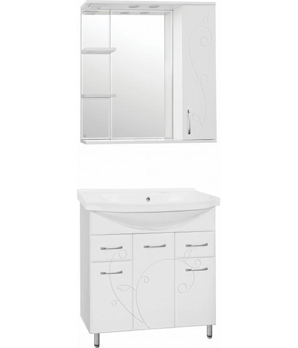 Комплект мебели Style Line Эко Фьюжн №26 80 белый