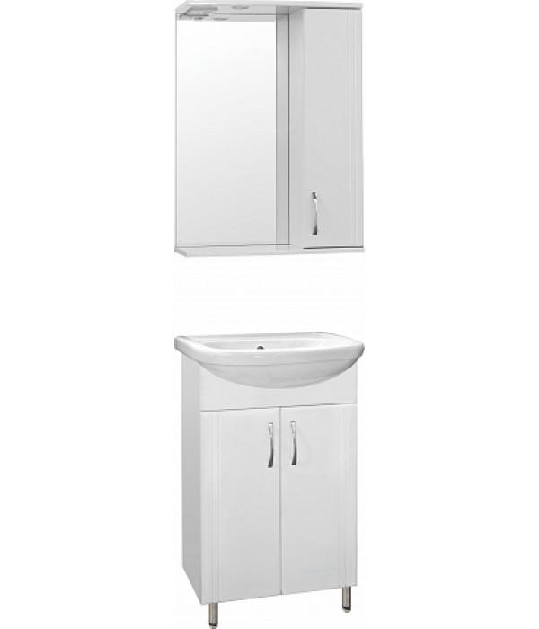Комплект мебели Style Line Эко Стандарт №9 55 белый