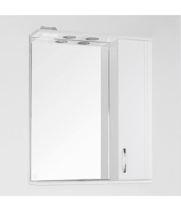 Зеркало-шкаф Style Line Эко Стандарт Панда 65/С белый