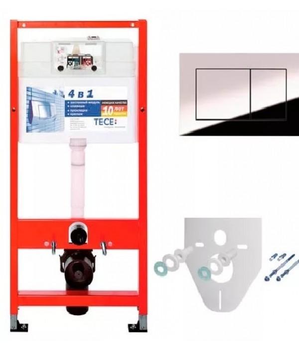 Система инсталляции для унитазов TECE Now К9400012 4 в 1 с кнопкой смыва