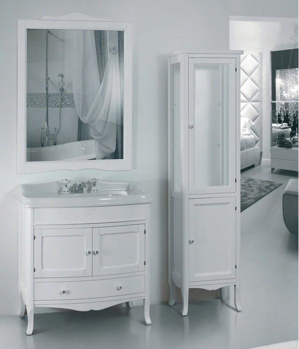 Комплект мебели Tiffany World Veronica 90/C bi puro