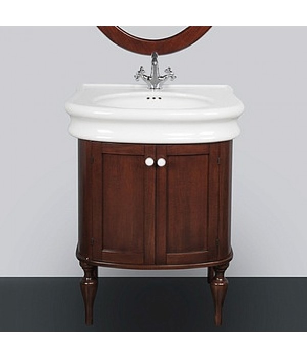 Тумба с раковиной Tiffany World Palermo 7701, коричневый