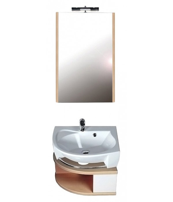 Комплект мебели Ravak Rosa береза/белая