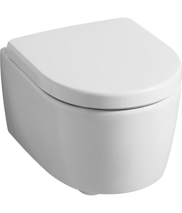 Унитаз подвесной Keramag iCon xs 204070 безободковый