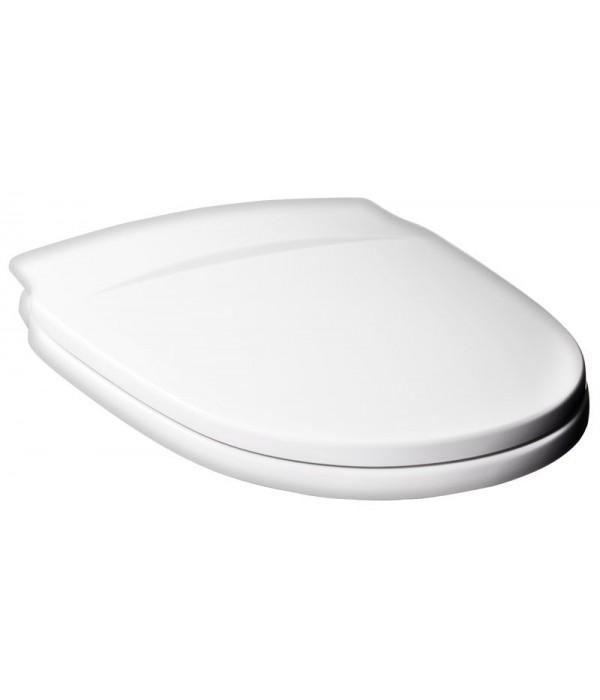 Крышка-сиденье Gustavsberg Nordic белая, крепления металлические