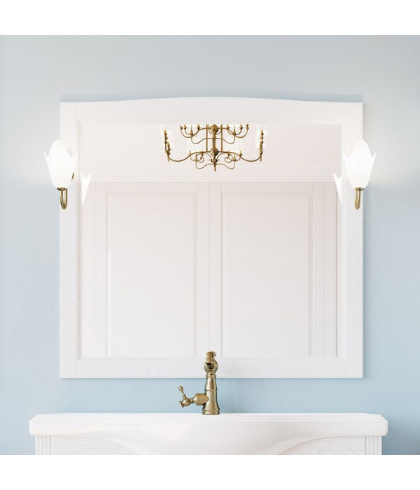 Зеркало ValenHouse Эллина 105 белое