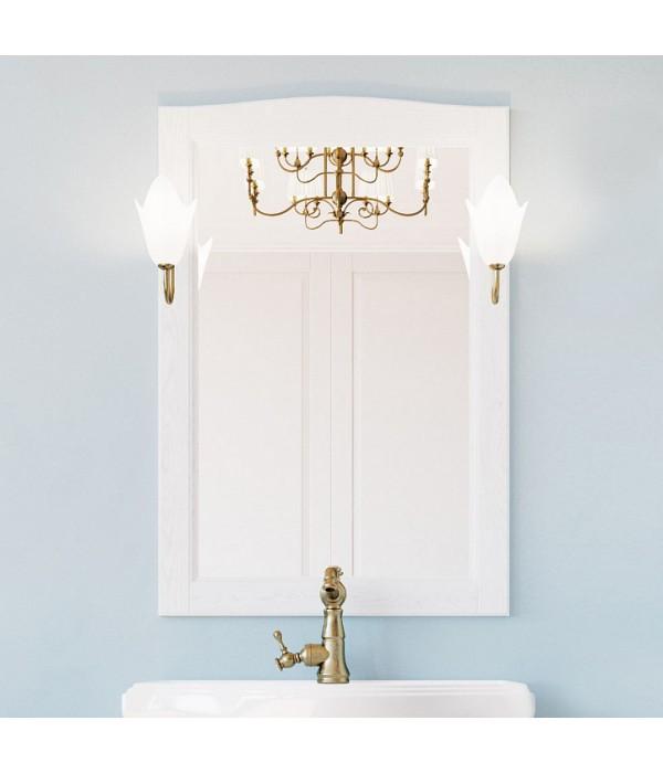 Зеркало ValenHouse Эллина 65 белое
