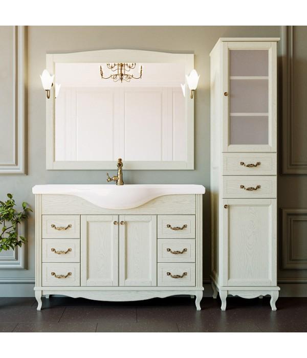 Комплект мебели ValenHouse Эллина 120 слоновая кость, фурнитура бронза