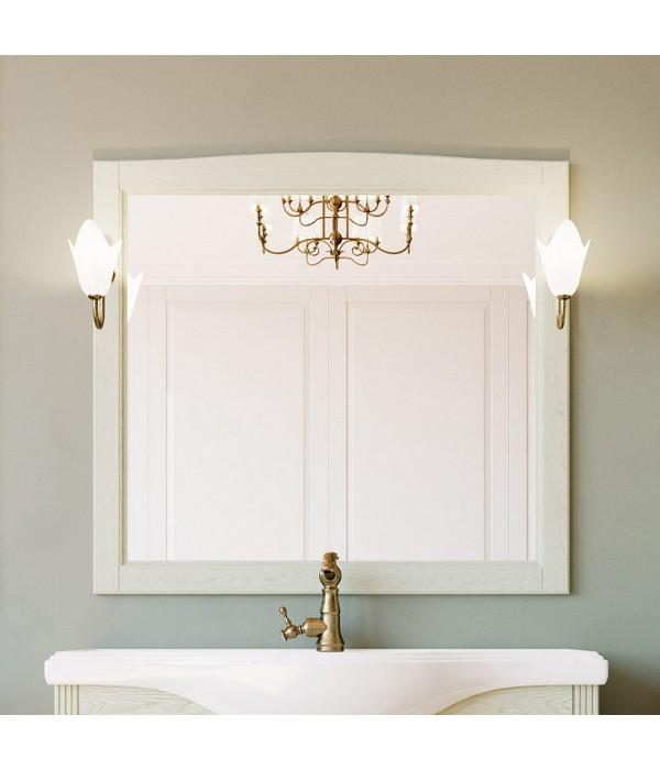 Зеркало ValenHouse Эллина 105 слоновая кость