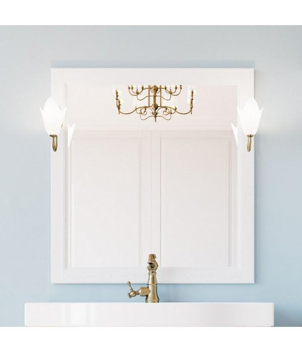 Зеркало ValenHouse Лиора 90 белое