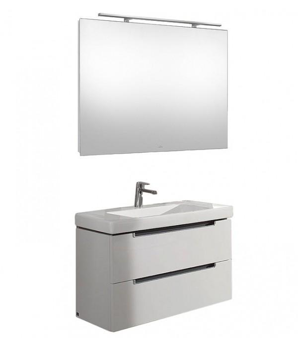 Комплект мебели Villeroy & Boch Subway 2.0 80 белая