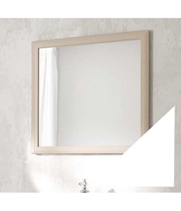 Зеркало Vod-ok Аделина 80 белый