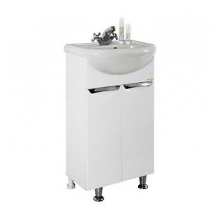 Мойдодыр для ванной комнаты 45 1.16, белый