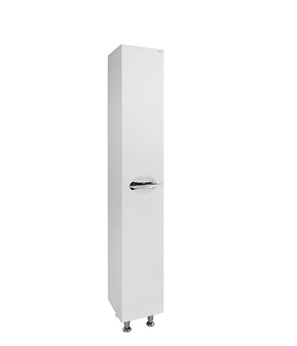 Пенал для ванной комнаты 2 с бельевой корзиной 30/35 1.16, белый
