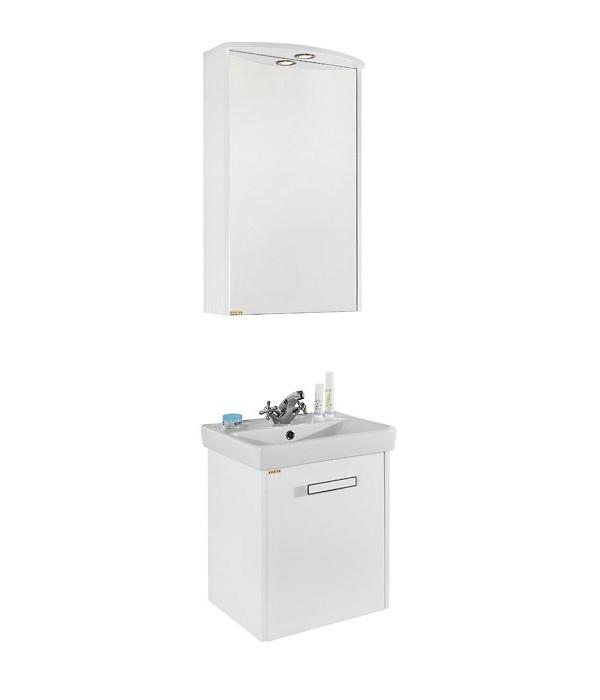 Комплект мебели для ванной 50 1.2, белый