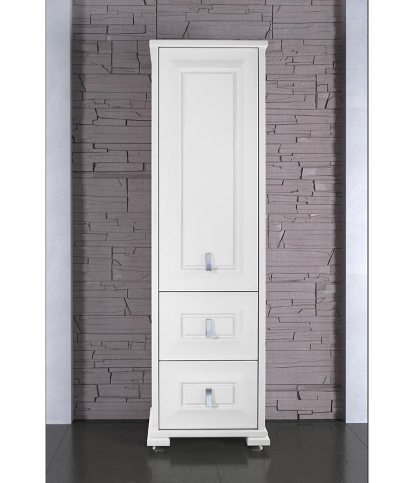 Пенал Риккардо h180 Белый 40 см