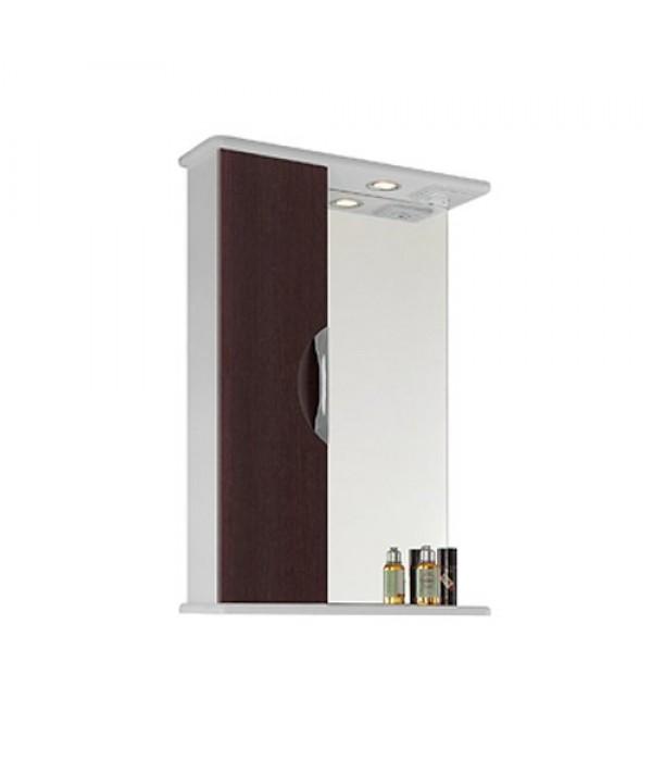 Шкаф-зеркало для ванной 65 1.16, венге