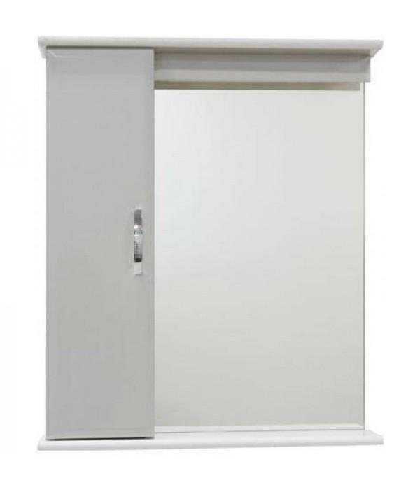Зеркало для ванной 65 см без освещения 1.33, белый