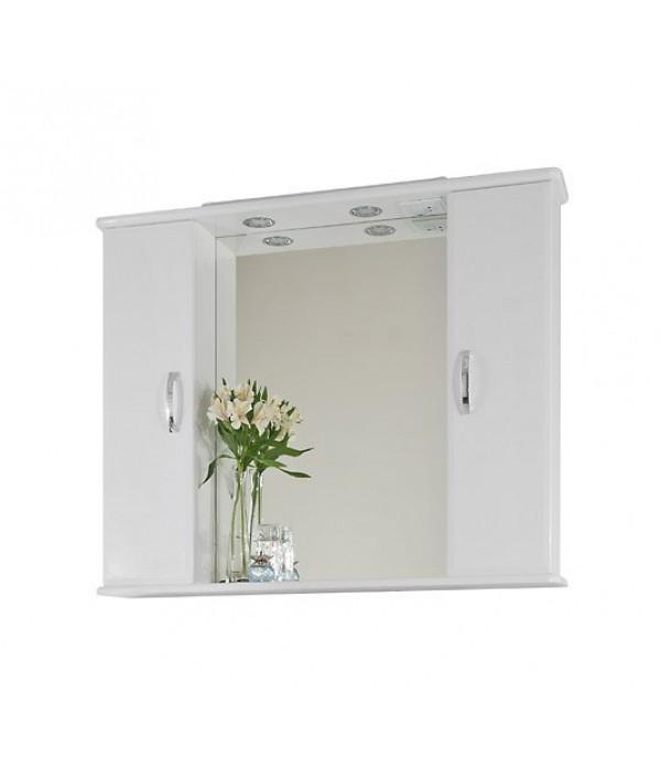 Зеркало-шкаф 105 1.5, белый