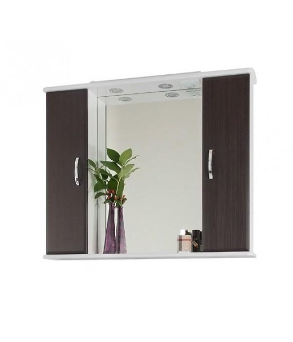 Зеркало-шкаф 105 1.5, венге