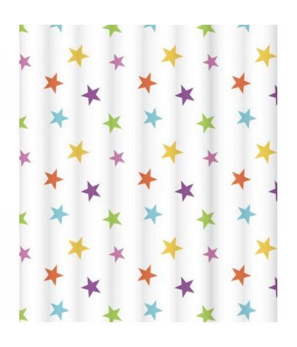 Штора для ванной комнаты LeMark Bright stars C2018T018