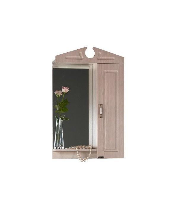 Зеркало для ванной 55 1.4, дуб