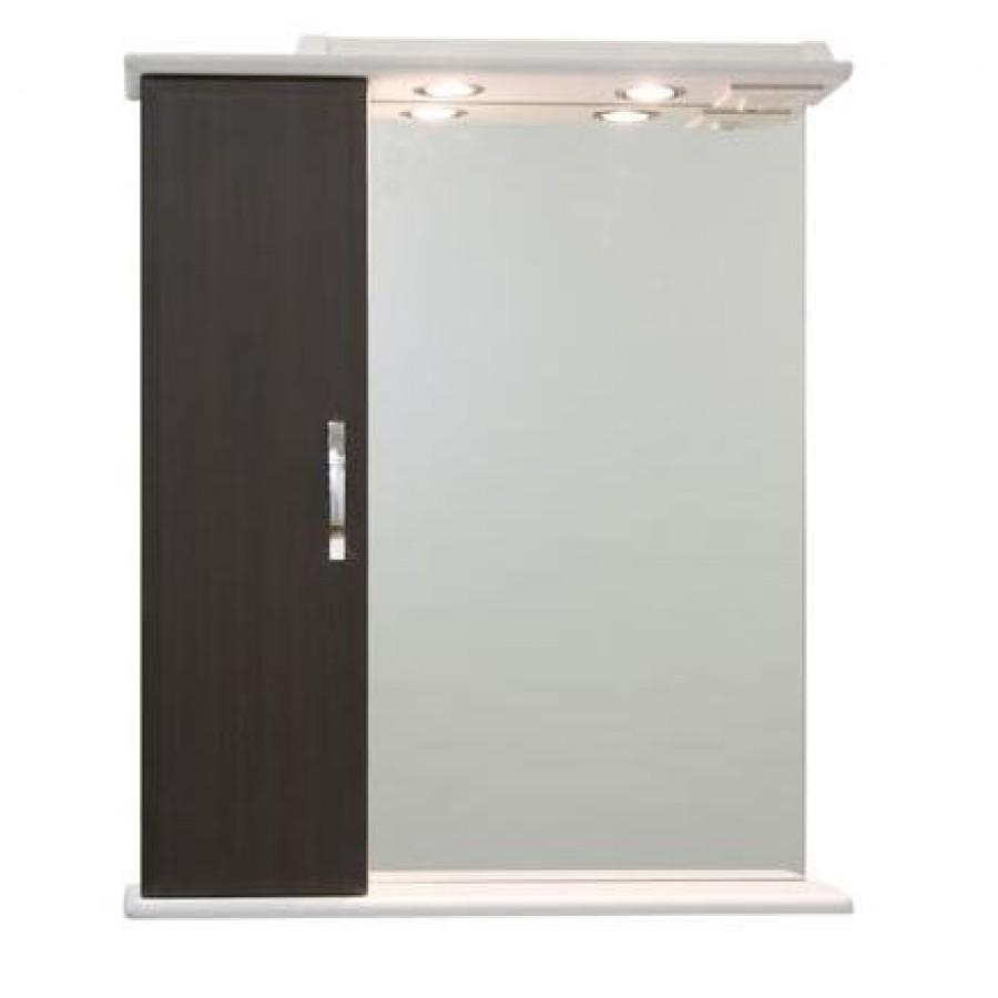 Зеркало для ванной 55 1.5, венге