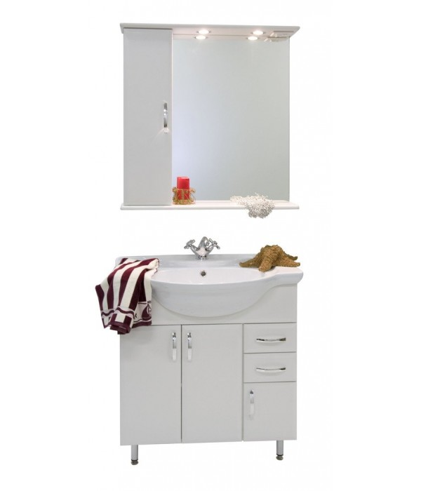 Комплект мебели 75 1.5, белый