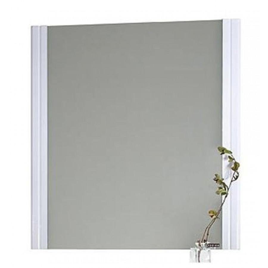 Зеркало для ванной Флоренц 75 см, белый